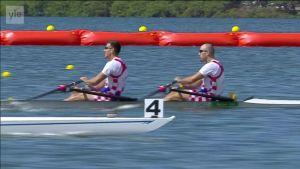 Rion olympialaiset: Miesten pariairokaksikon kultaa Kroatiaan