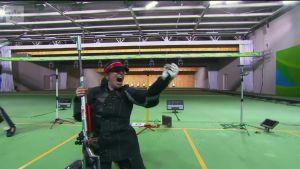 Rion olympialaiset: Engleder kukisti kiinalaisampujat ja tähtäsi pienoiskiväärin asentofinaalin voittoon
