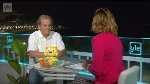 """Rion olympialaiset: Maailmanmatkaaja Rauli Virtanen on ennenkin käynyt Riossa: """"Tulin rahtilaivalla Porista"""""""