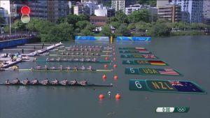 Rion olympialaiset: Miesten kahdeksikko täydensi brittien soutumenestyksen
