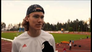 Urheilujuttuja: 15-vuotias Arttu Mattila on poikkeuksellinen korkeushyppylahjakkuus