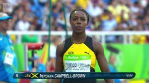 Rion olympialaiset: Kaksinkertainen olympiavoittaja Campbell-Brown ei selviytynyt edes välieriin