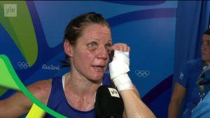 """Rion olympialaiset: """"Tuntuu hyvältä!"""" – Potkonen kyllästyi häviämään miljoonan dollarin beibille"""