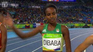 Rion olympialaiset: Faith Kipyegon naisten 1500m voittoon!