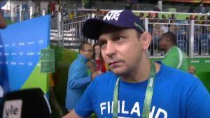 Rion olympialaiset: Haastattelussa Petra Ollin valmentaja Ahto Raska