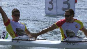 Rion olympialaiset: Espanja meloi 200 metrin kajakkikaksikon voittoon