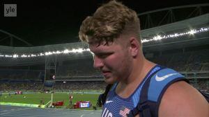 Rion olympialaiset: Ryan Crouser - Kuulantyönnön olympiavoittaja