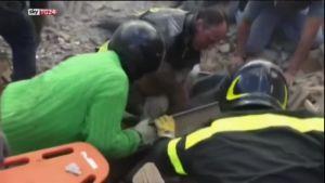 Uutisvideot: Raunioista löytyy vielä eloonjääneitä Italiassa