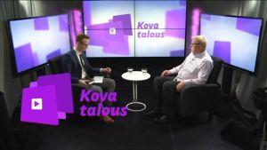 Uutisvideot: Kova talous: Professori Markku Kuisma kummastelee valtionyhtiöistä käytävää keskustelua