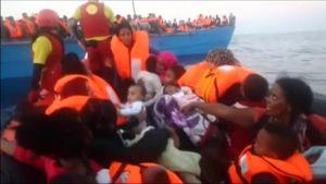 Uutisvideot: Libyan rannikolla pelastettiin tuhansia ihmisiä mereltä