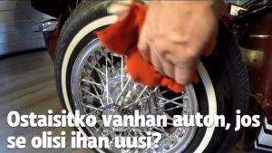 Uutisvideot: Klassikkoautojen raiskaus vai neronleimaus?