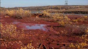 Uutisvideot: Uudet kuvat Venäjällä verenpunaiseksi muuttuneesta joesta