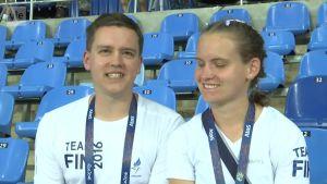 Rion paralympialaiset: Sisko ja veli – myös huippu- ja opasurheilija