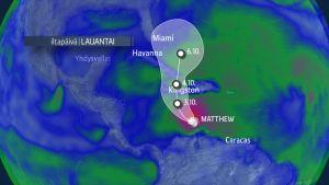 Hurrikaani Matthew liikkuu kohti Jamaikaa