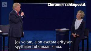 Uutisvideot: Syyttelyä ja päällepuhumista - Vaaliväittelyn parhaat palat kahdessa minuutissa