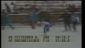 9. helmikuuta: Marja-Liisa Hämäläinen voittaa ensimmäisen olympiakultansa 1984