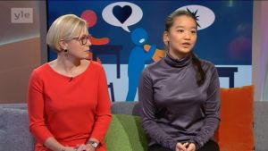 Ylen aamu-tv: Konfliktinratkaisua kouluissa CMI:n opeilla
