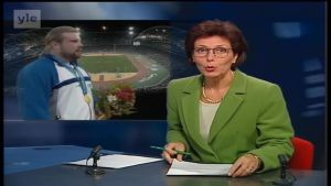 22. syyskuuta 2000: Arsi Harju voittaa olympiakultaa