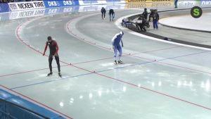 Urheilujuttuja: Poutala seitsemäs Naganon 500 metrillä