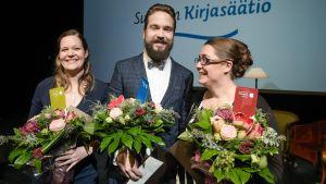 Uutisvideot: Finlandia-palkinnot julkistettiin