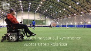Yle Uutiset Häme: Neliraajahalvaantunut jalkapallovalmentaja