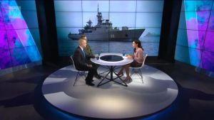 A-studio: Itämeren turvallisuustilanne on jännittynyt - miten se vaikuttaa maanpuolustustahtoon?