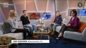 Ylen aamu-tv: Junioriurheilijat suunnittelivat harjoituksensa itse