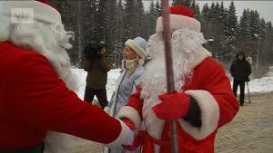 Yle Uutiset Itä-Suomi: Joulupukki ja Pakkasukko kohtaavat