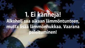 Yle Uutiset Kaakkois-Suomi: Muista nämä 6 asiaa kun oleskelet pakkasessa