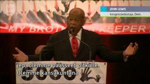 Uutisvideot: Kansalaisoikeustaistelija John Lewis vetosi sovinnollisuuden puolesta