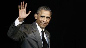 Presidentti Obaman viimeinen tiedotustilaisuus Valkoisessa talossa