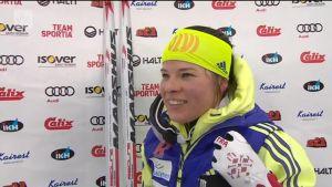 Urheilujuttuja: Pärmäkoski hallitsi SM-hiihtojen kymppiä