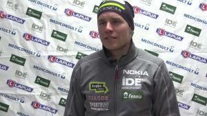Urheilujuttuja: Mika Poutala ei löytänyt huippuvauhtia