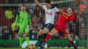 Valioliiga: Maalikooste: Liverpool-Tottenham