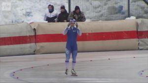 Urheilujuttuja: Samuli Suomalainen jäi 0,13 sekuntia MM-mitalista