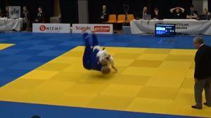Urheilujuttuja: Judokarpaasin monipuolisuus häikäisee