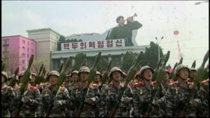 Pohjois-Korean paraati
