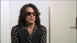 Uutisvideot: Kiss-yhtyeen Paul Stanley haastattelussa