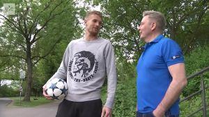 Urheilujuttuja: Hradecky valmiina Saksan cup-finaaliin