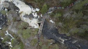 Urheilujuttuja: Karhunkierros komeissa maisemissa Kuusamossa