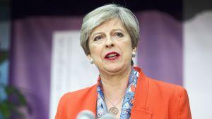 Britannian pääministeri May kommentoi vaalitulosta