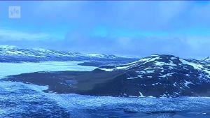 Uutisvideot: Kilpisjärvi on edelleen jäässä