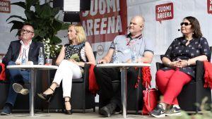 Uutisvideot: Onko mediaan luottamista? Katso SuomiAreenan keskustelu