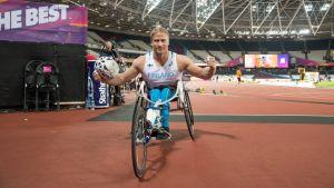 Parayleisurheilun MM: Leo-Pekka Tähti nappasi 200 metrin MM-pronssia