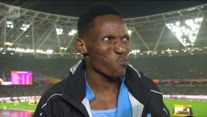 Yleisurheilun MM: Isaac Makwala 200 metrin välierän jälkeen