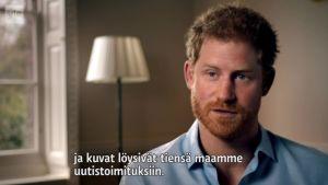 Uutisvideot: Harry ja William muistelevat äitiään
