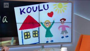 Ylen aamu-tv: KiVa-koulun kehittäjä Christina Salmivalli