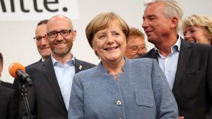Liittokansleri Angela Merkelin tiedotustilaisuus