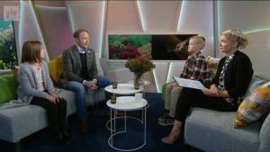 Ylen aamu-tv: Nuoret hyväntekijät lahjoittavat voittorahansa Itämerelle