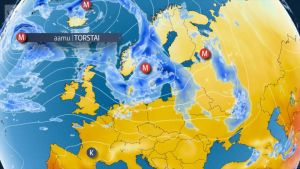 Uutisvideot: Matalapaineet tuovat sateita Suomeen